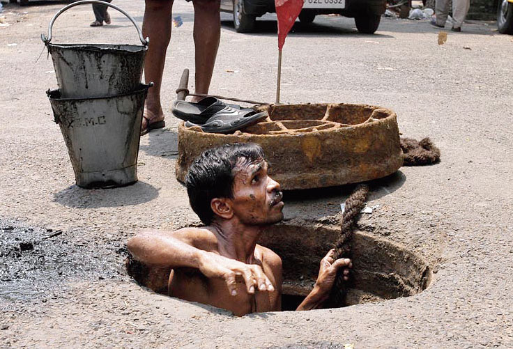 India's abject failure on manual scavenging
