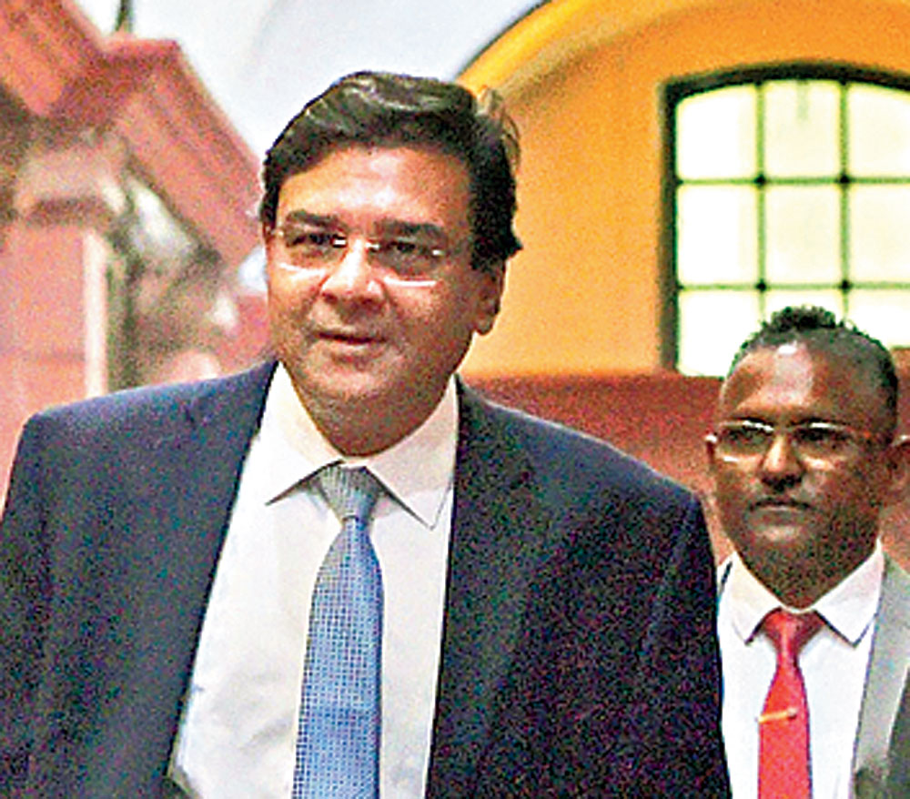RBI governor Urjit Patel in New Delhi on Tuesday
