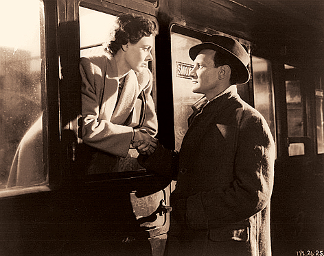 A still from the film, Brief Encounter, on which the audio play by EITC was based.