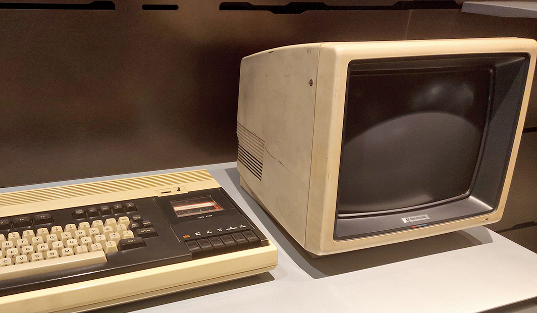 The SPC-1000 (1983), the first 8-bit personal computer in Korea