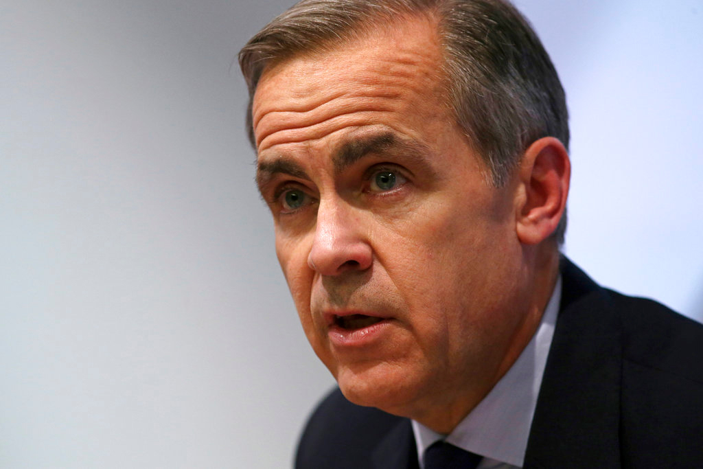 UK central bank warns of deep recession without Brexit deal