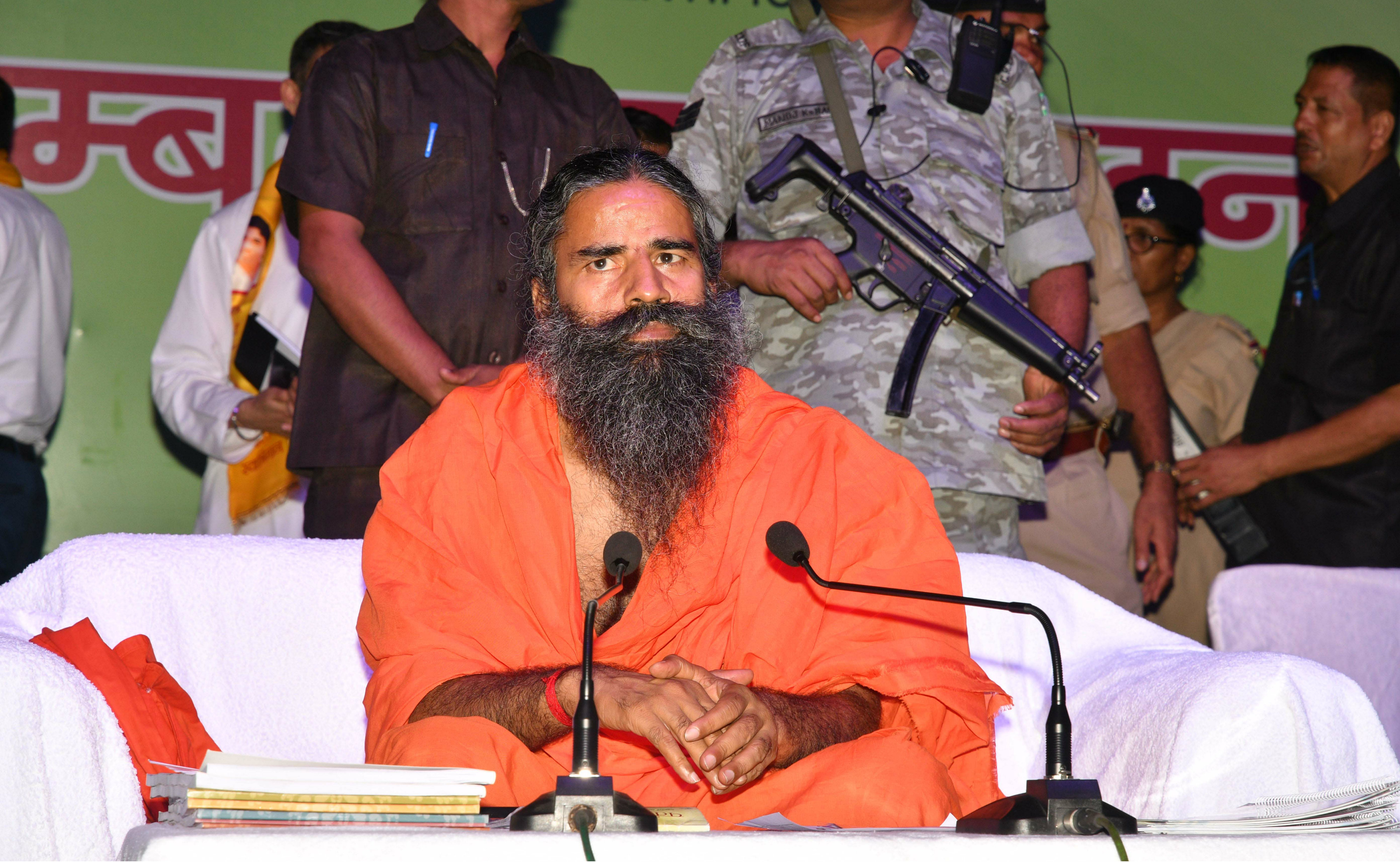 Ramdev said he wants to make a spiritual India and world, not a Hindu India or communal India.