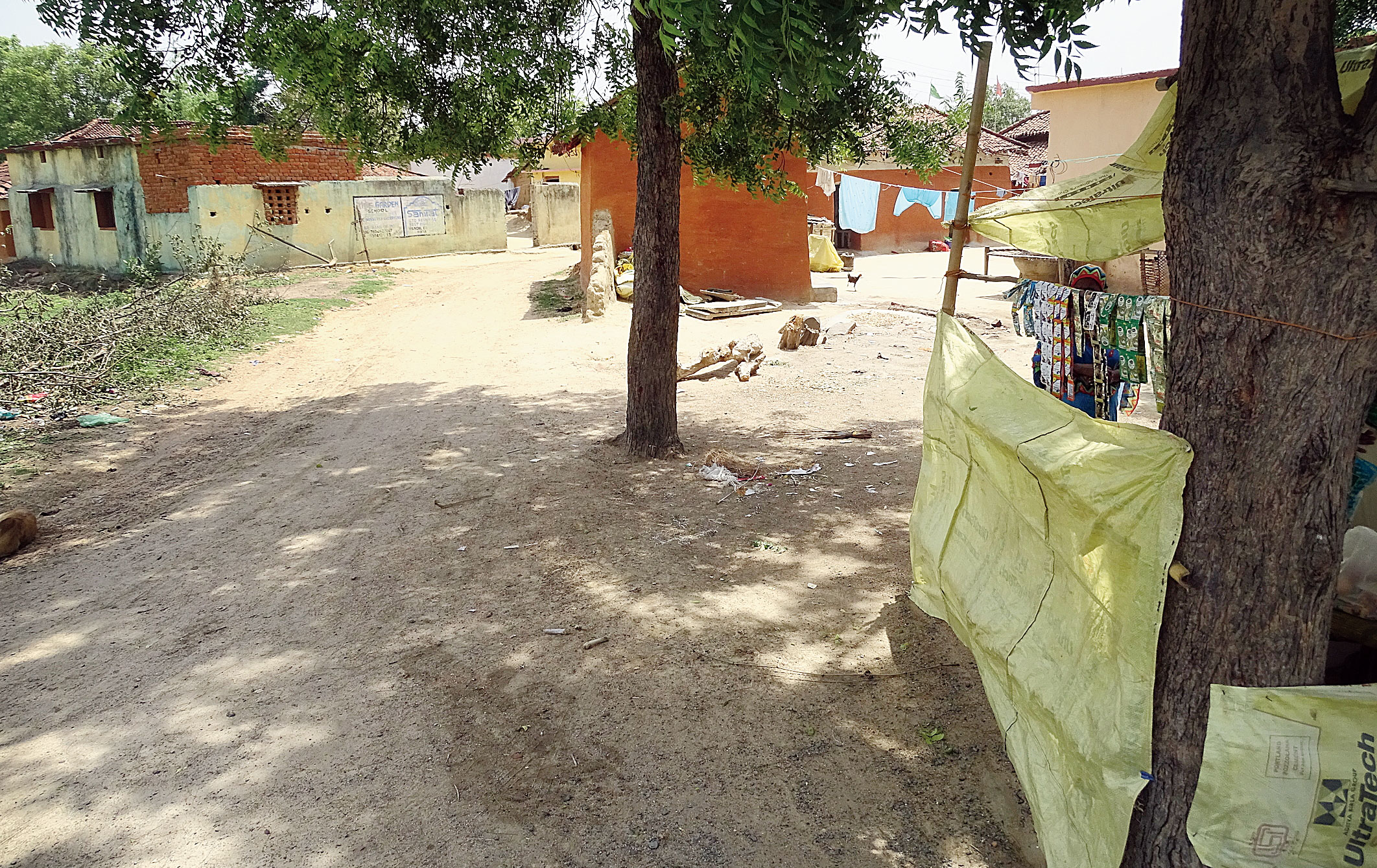 The site in Shobhapur village of Seraikela's Rajnagar block where four persons were killed in mob frenzy in 2017.