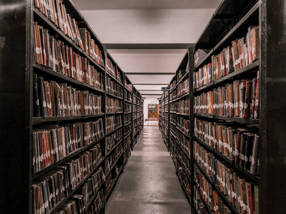 Gauhati University library (file picture). The university collected Rs 39 crore as enrolment fees by offering 21 unapproved courses through its distance learning centre for seven years, the Comptroller and Auditor General of India has said in a report.