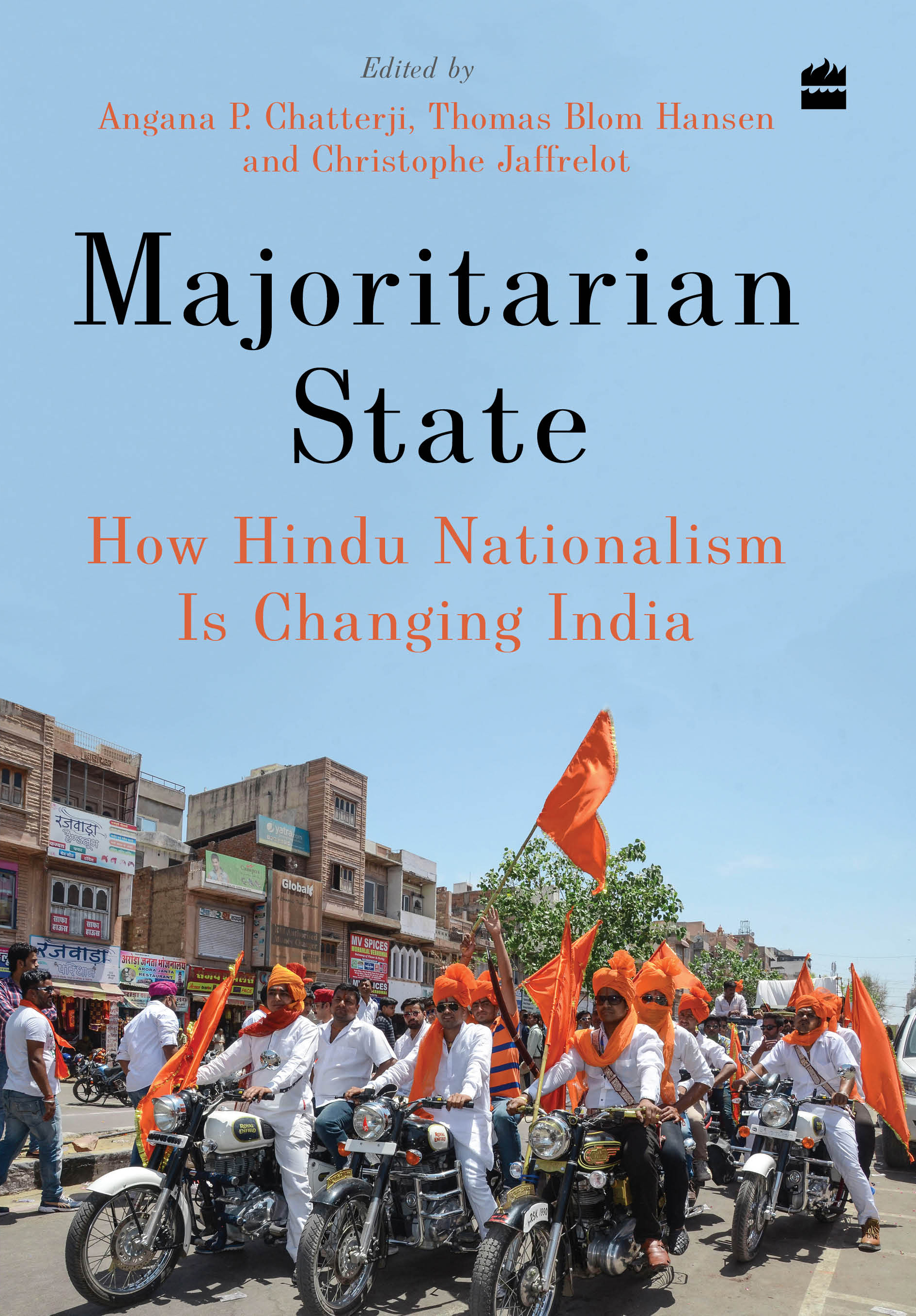 Book cover: Majoritarian State: How Hindu Nationalism Is Changing India