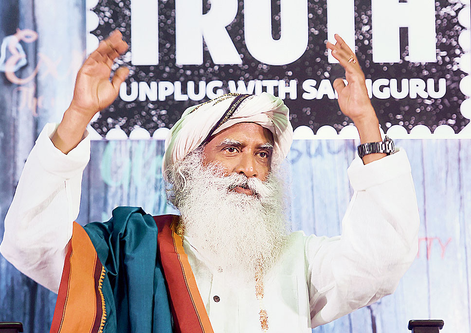 Jaggi Vasudev, out on Youth and Truth tour, will speak in JNU