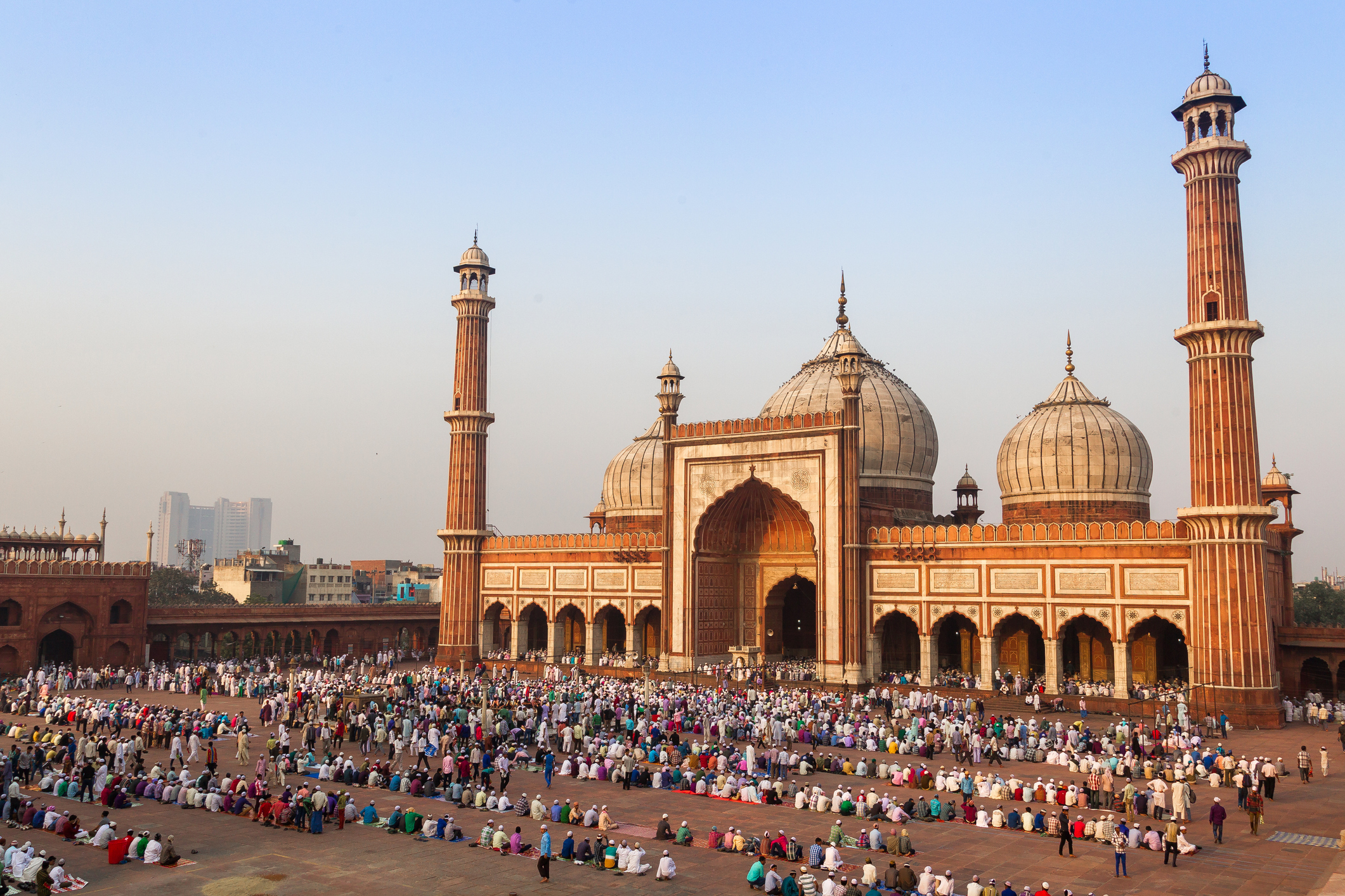 The Jama Masjid in Delhi
