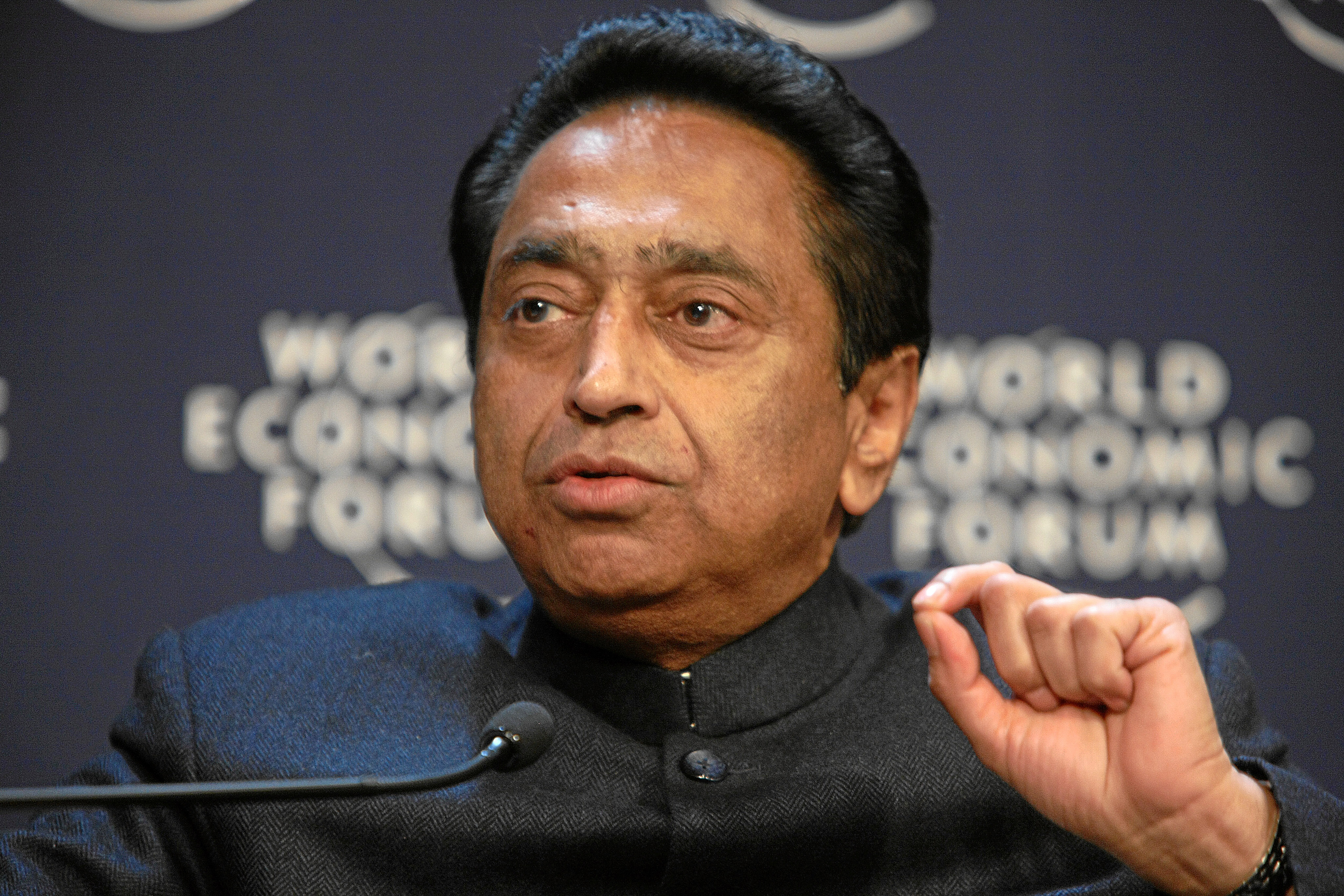 The unusual response from the state government was sent to anti-corruption activist Ajay Dubey who had filed an application seeking details of appointments to non-government posts in the office of MP chief minister Kamal Nath (in picture)