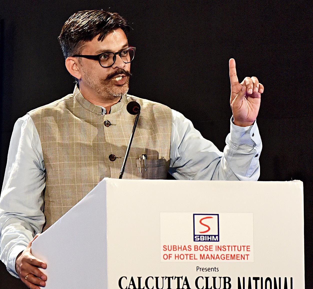 Against the motion Prafulla Ketkar