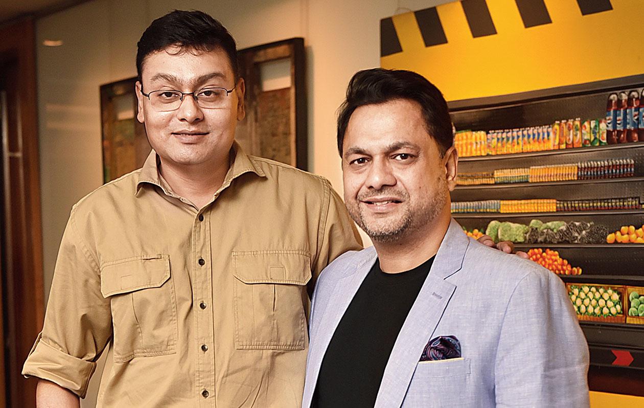 Subhrajit Mitra with Gaurang Jalan