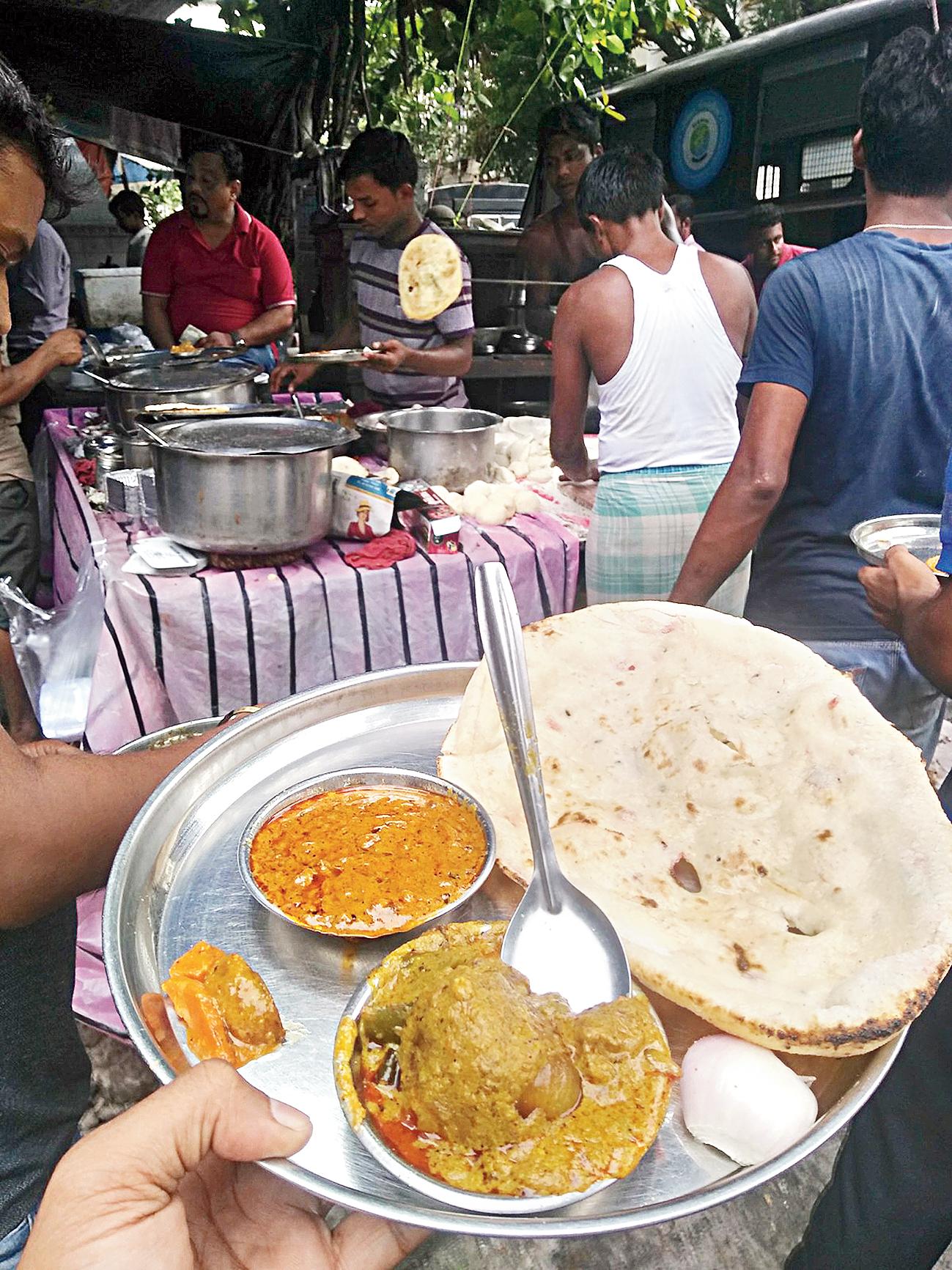 Rajneesh Walia's foodstall Mission Dhaba