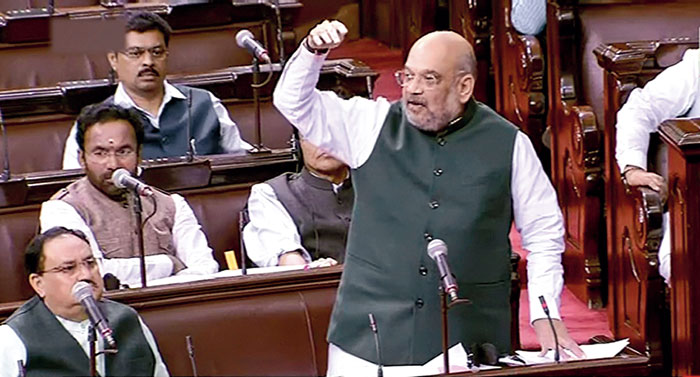 NRC: Amit Shah's total normalcy