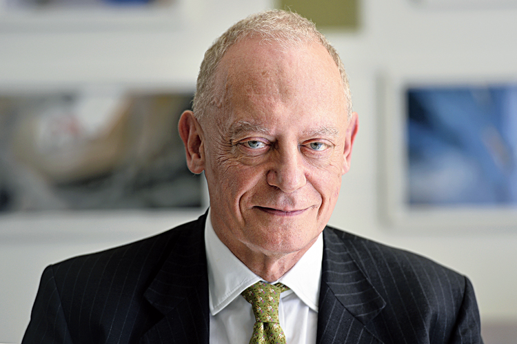 UK investment minister Gerry Grimstone