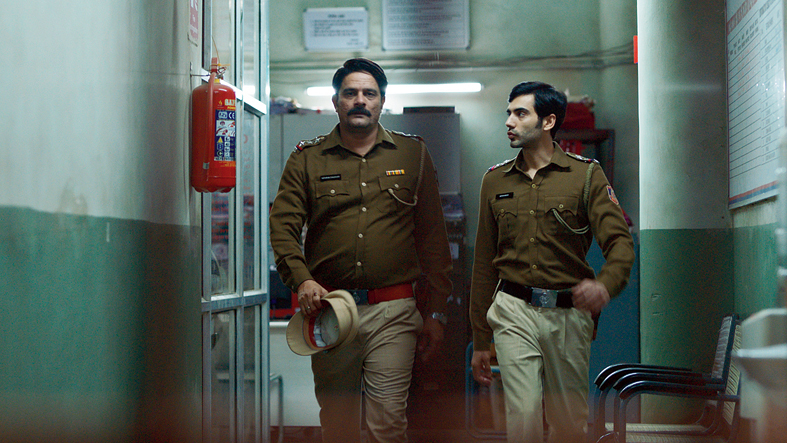 Men on a mission: Jaideep Ahlawat (left) and Ishwak Singh in Paatal Lok, now streaming on Amazon Prime Video