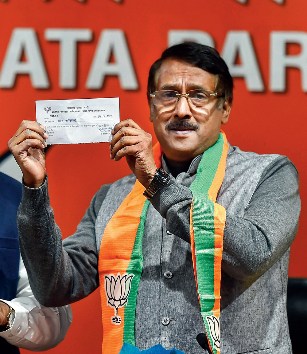 Tom Vadakkan: a prize catch for the sangh