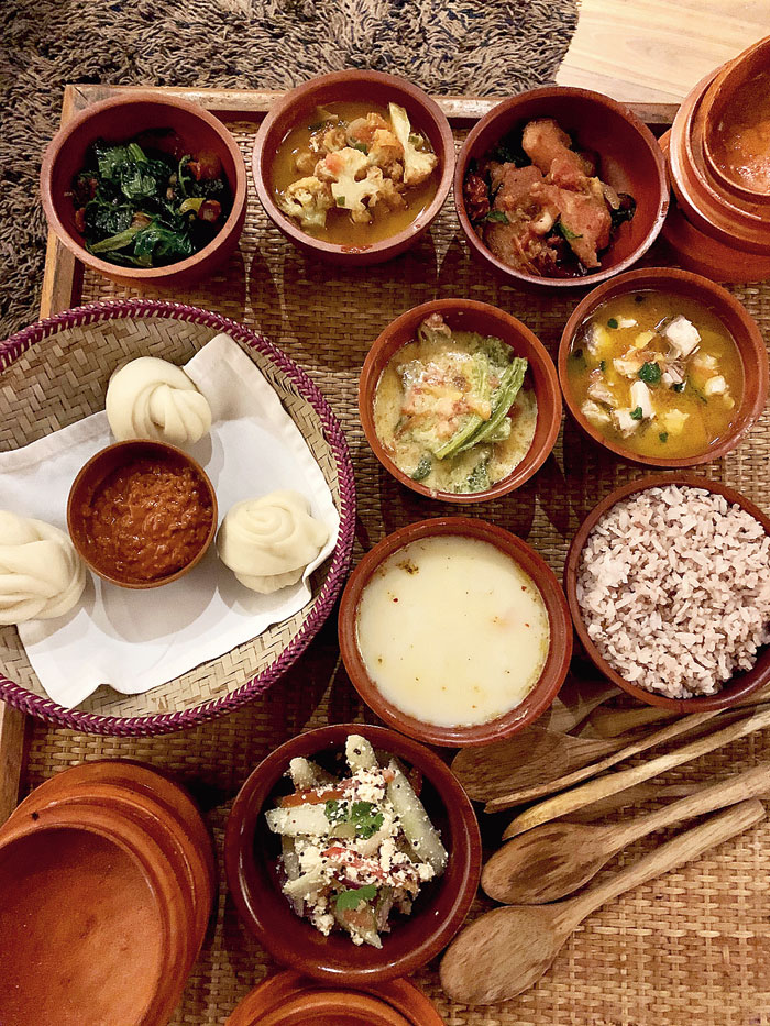 Room service: A feast of local dishes at Aman Thimphu