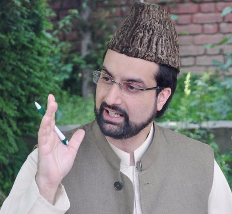 Mirwaiz Umar Farooq.