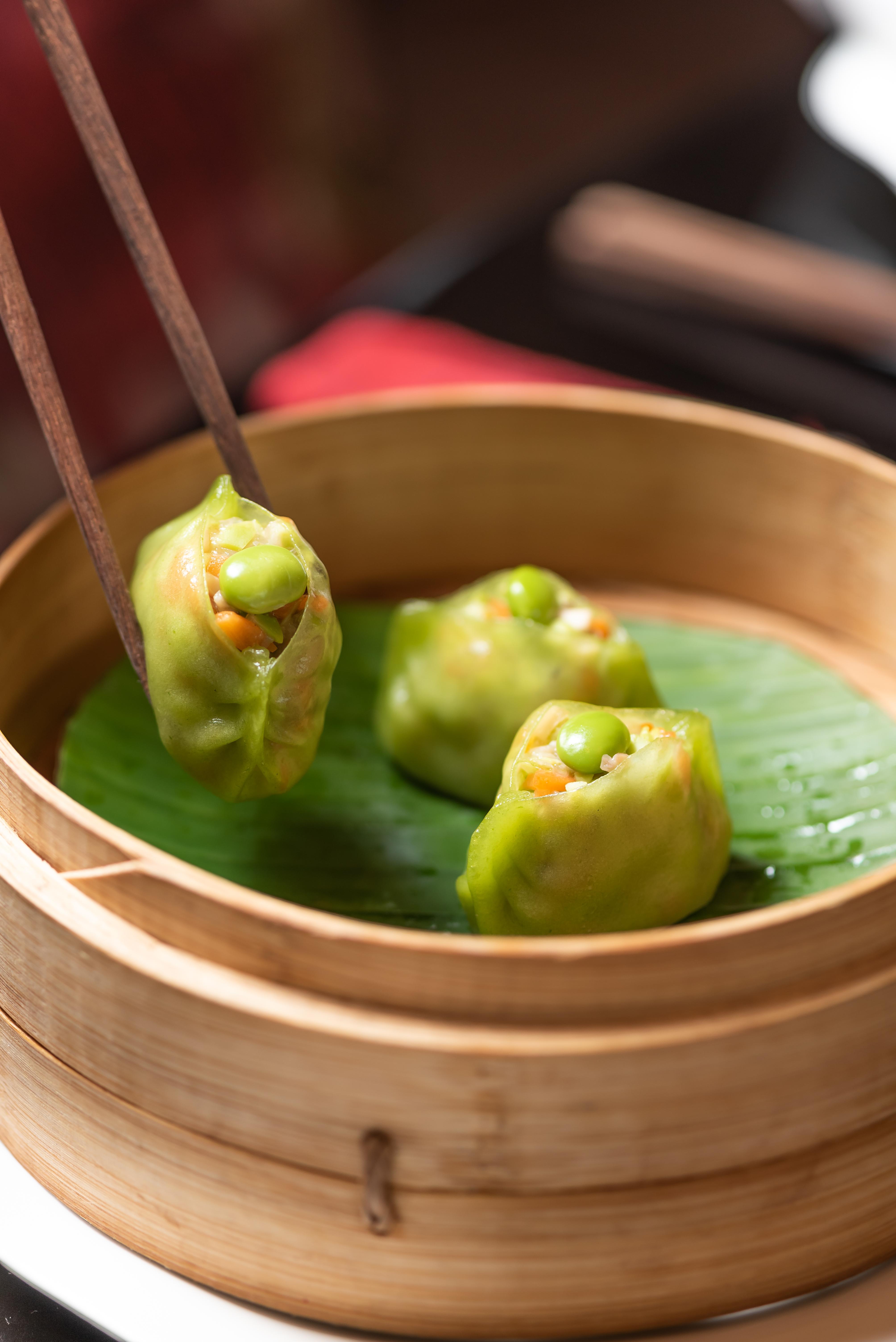 Edamame dumpling