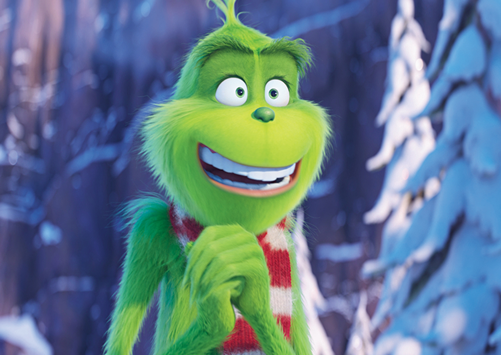 A moment from 'Dr Seuss' The Grinch'