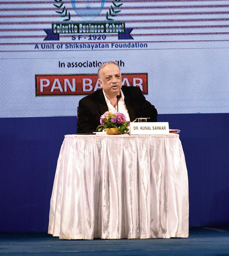 Moderator Kunal Sarkar