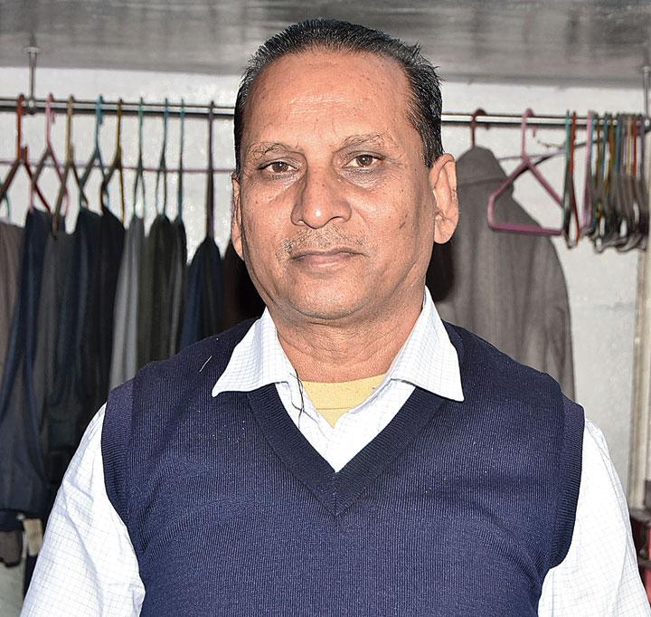 Nisar Ahmad, 58, tailor