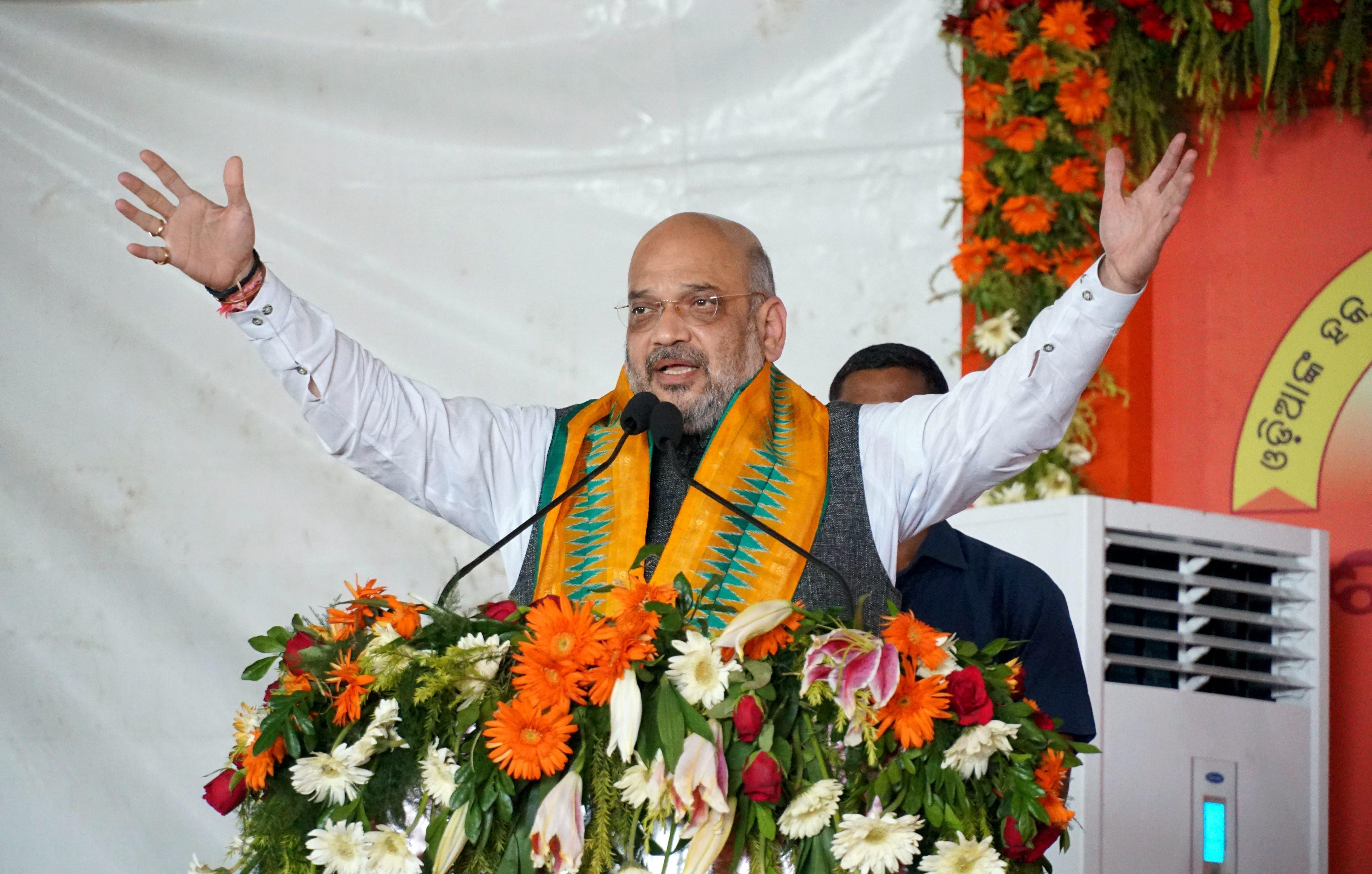 Amit Shah fires Urban Naxal barb at Congress