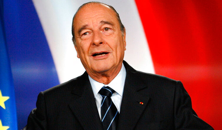 French ex-President Jacques Chirac dead