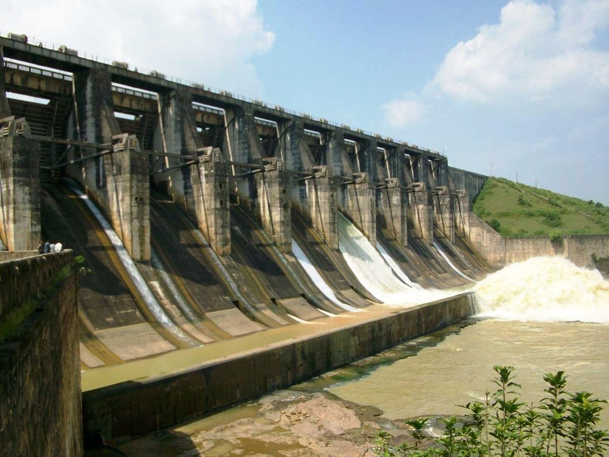 Tenughat Dam in Gomia Block of Bokaro