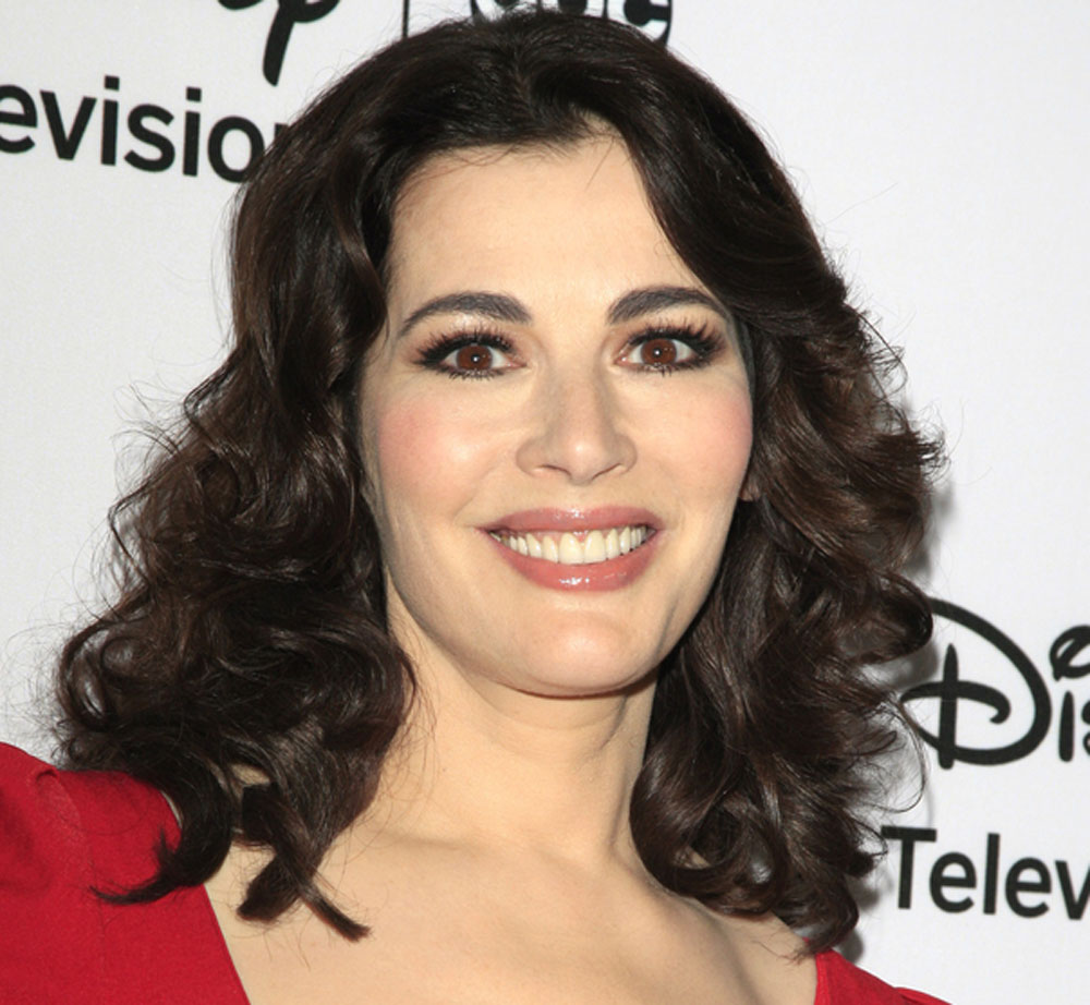 Nigella Lawson said that she often heads to bed at 7.30pm, although often just to lie around rather than actually close her eyes
