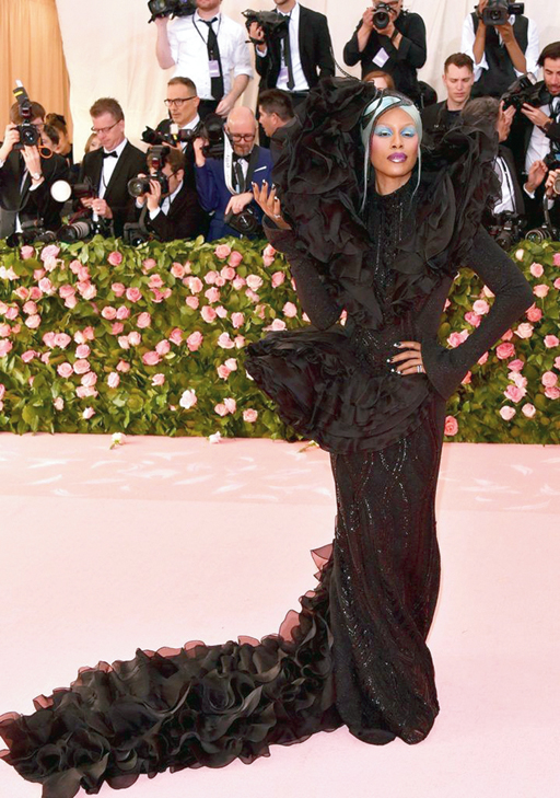 Laverne Cox's look at the Met Gala