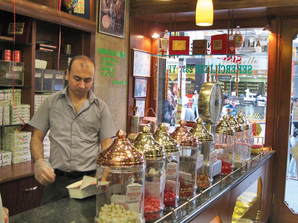 Visit Haci Bekir for Turkish delight