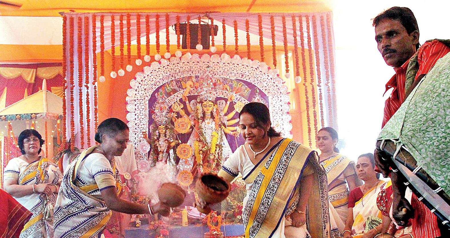 Durga Puja in Calcutta
