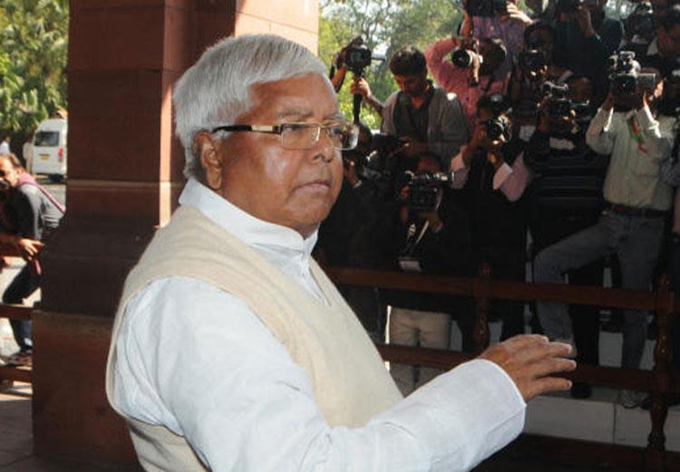 RJD leader and former Bihar chief minister. Lalu Prasad