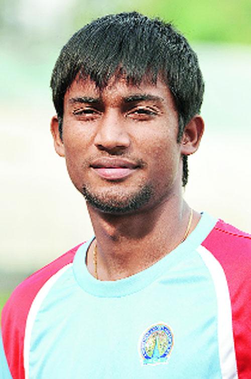 Rituraj Singh from the Rajasthan team