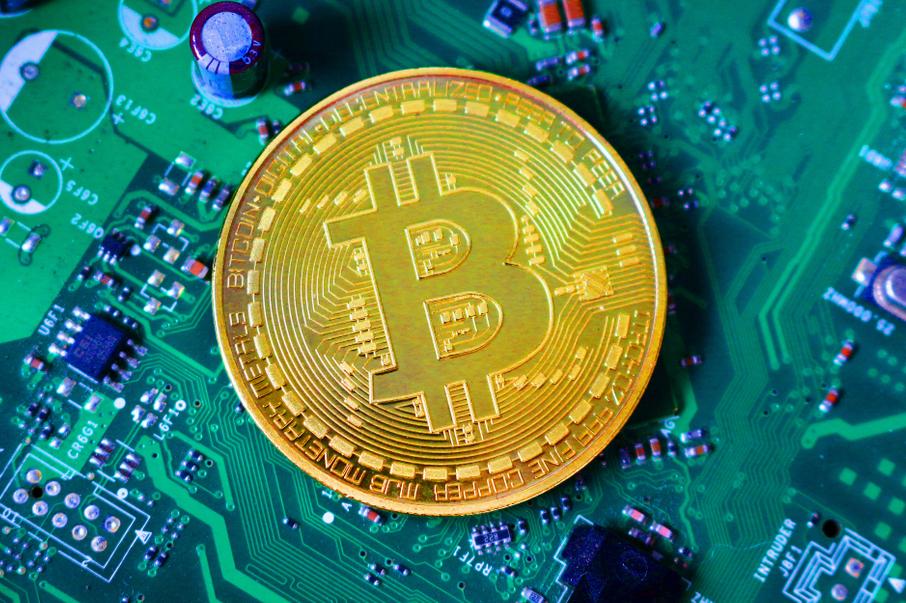 A Bitcoin medal