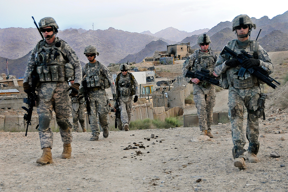 US soldiers at a remote Afghan base. The lessons of World War II and the Korean and Vietnam Wars were never applied to Afghanistan