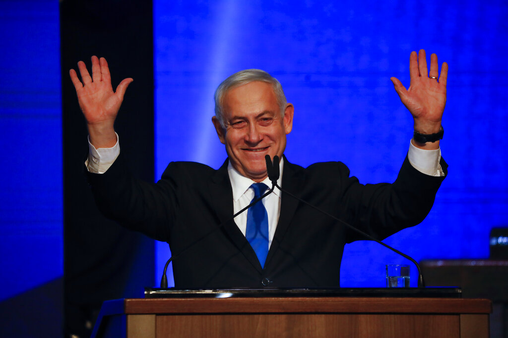 Netanyahu battles for political survival