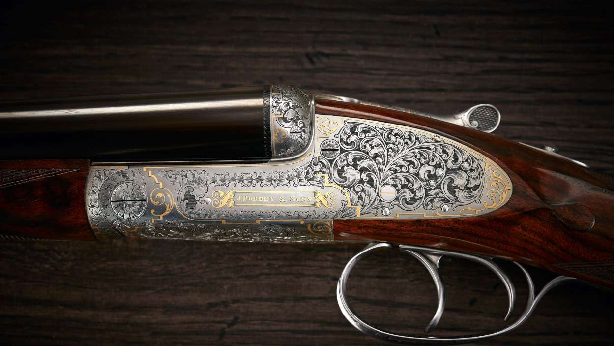 The blue-blooded own bespoke guns, Purdey proves