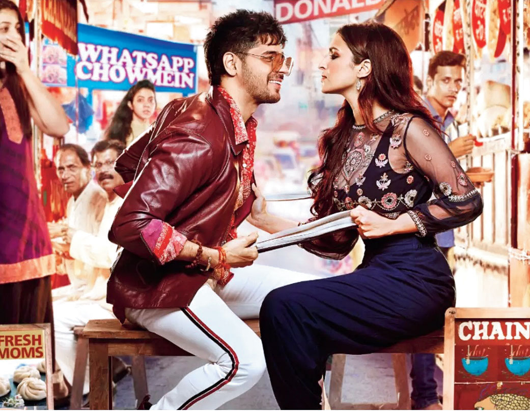 Sidharth Malhotra and Parineeti Chopra in 'Jabariya Jodi'