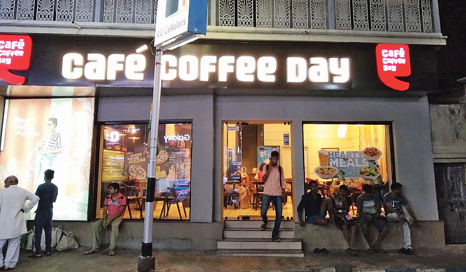 The Café Coffee Day store at Golpark, Calcutta