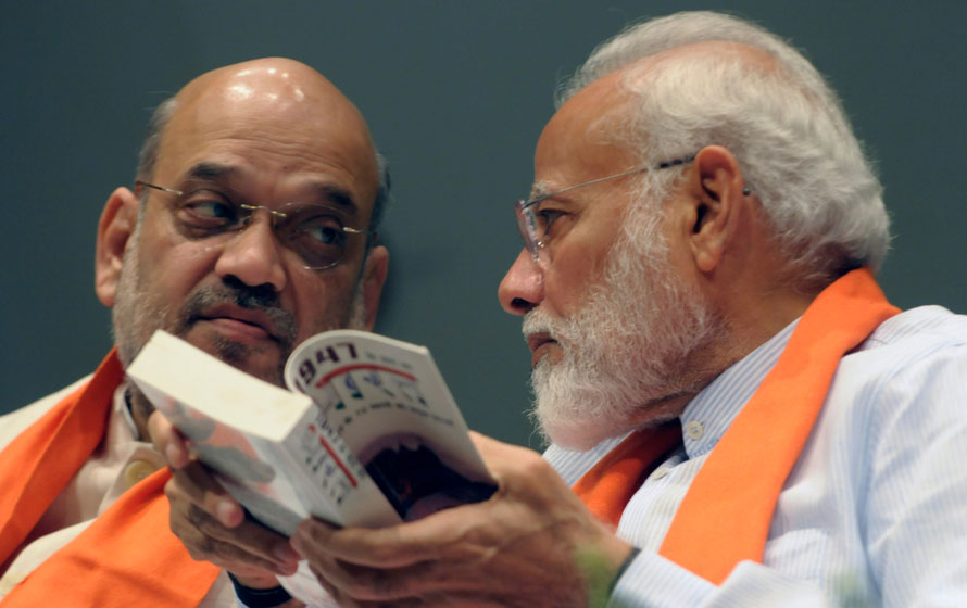 It would, perhaps, not be unreasonable to infer that the 'Gujarat powder' Raosaheb Danve spoke of owes its magical properties to the prime minister, Narendra Modi, and the BJP chief, Amit Shah, both of whom hail from the western Indian state.