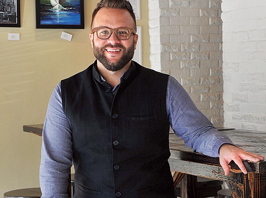 Zachary Ray at 8th Day Cafe & Bakery.
