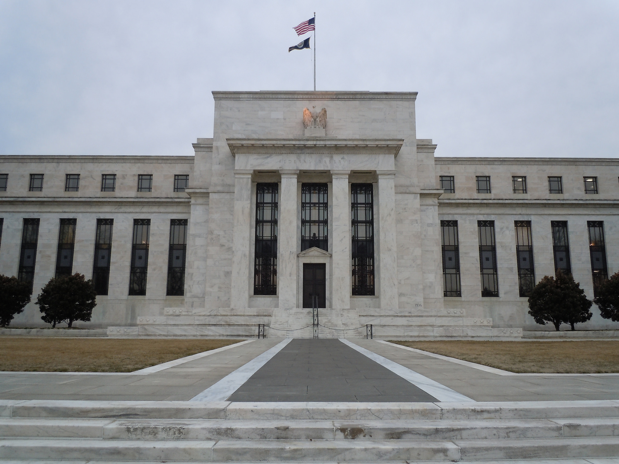 The US Federal Reserve headquarters in Washington, DC