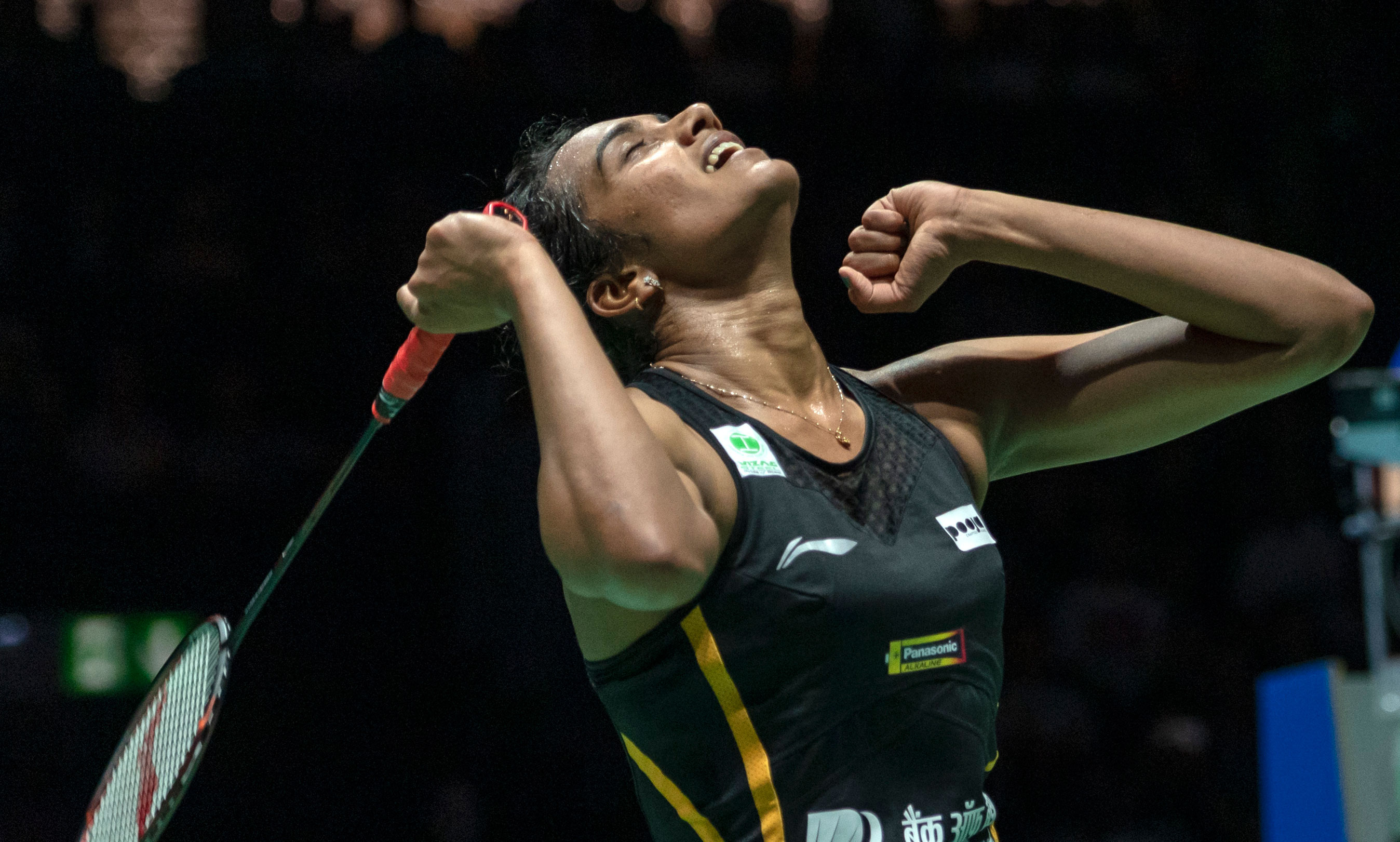 PV Sindhu after her win on Sunday.
