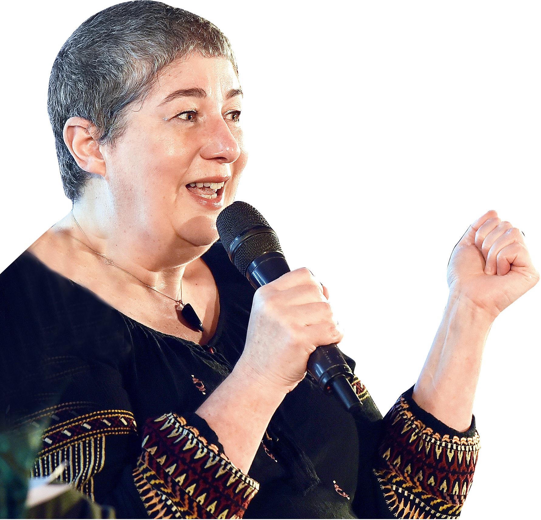 Joanne Harris at the Tata Steel Kolkata Literary Meet.