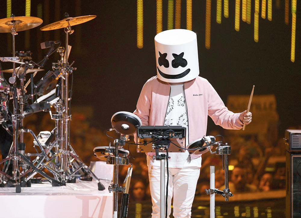 Marshmello has 5.5 million