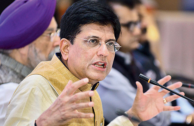 """""""While April was quite a washout with 60 per cent fall, my sense is that in May, it will grow significantly and the reduction will be around 30-35 per cent. We have to wait for the numbers,"""" Piyush Goyal said at the CII's export summit organised through video-conferencing."""