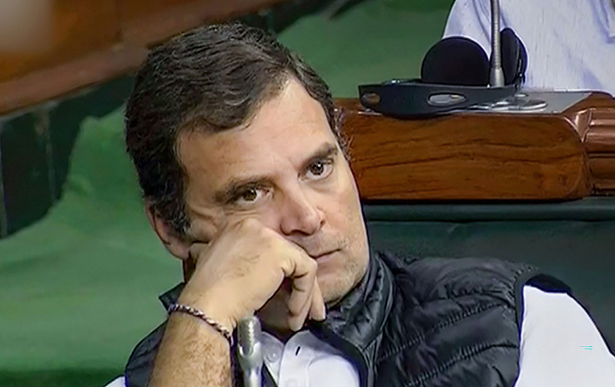 Congress leader Rahul Gandhi.