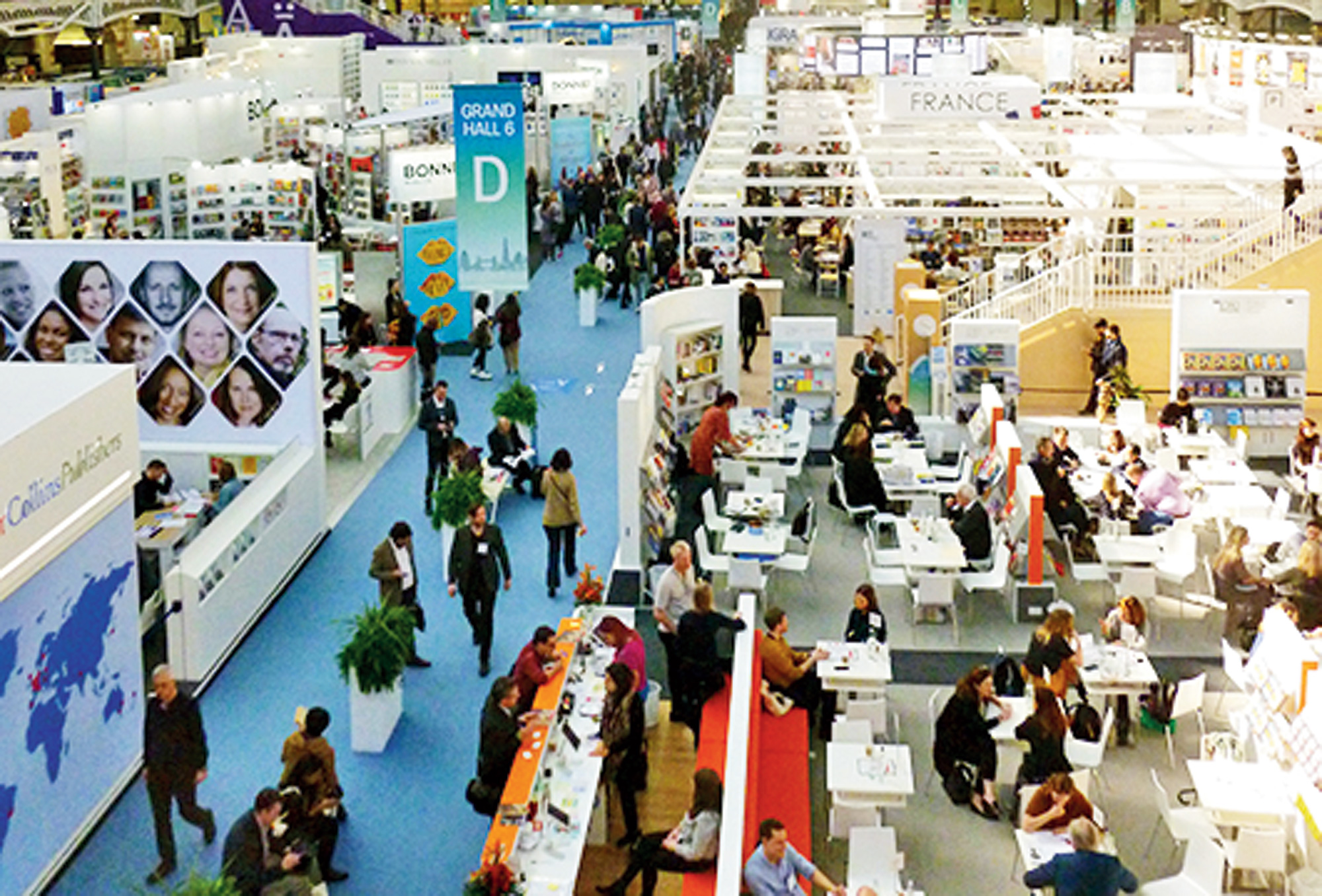 Many big publishers at the London Book Fair emphasize that they now have branches in India.