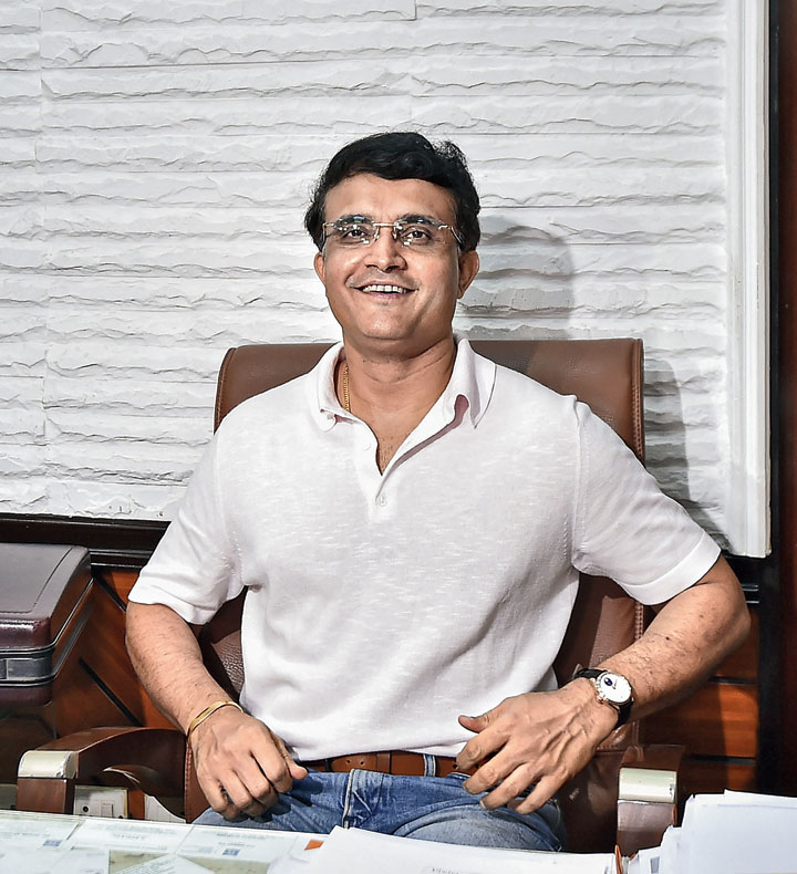 Sourav Ganguly at the CAB on Wednesday